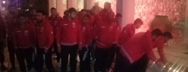 Στο Δημαρχείο και οι ποδοσφαιριστές του Ολυμπιακού Βόλου (photos)