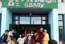 Σε σχολεία οι παίκτες του Ολυμπιακού