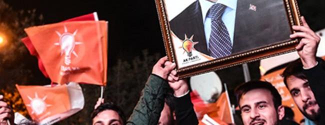 Σάρωσε στην τουρκία το κόμμα του Ερντογάν