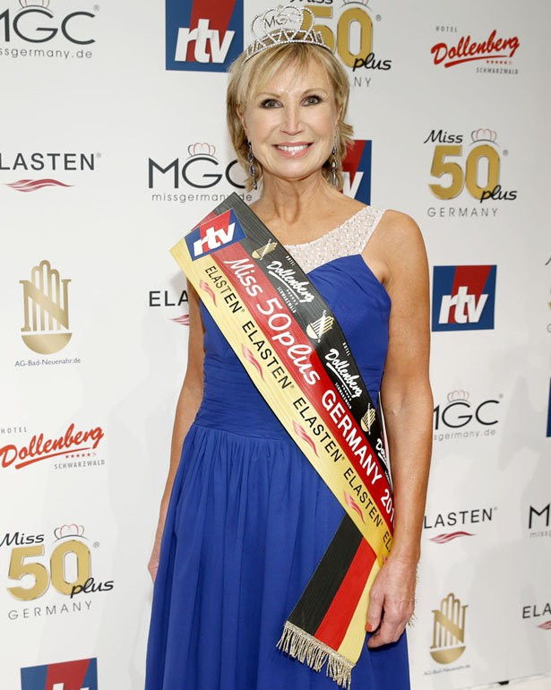 Martina Selke Wahl der Miss 50plus Germany im Kurhaus Bad Neuenahr am 14.11.2015. (c)rtv media group GmbH