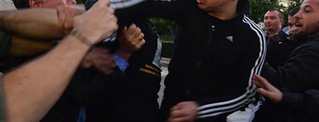 Επίθεση στο βουλευτή της ΝΔ Γ. Κουμουτσάκου (vid & Photos)