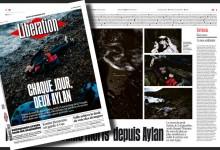 Συγκλονίζει το πρωτοσέλιδο της Liberation: «Kάθε μέρα, δύο Αϊλάν»