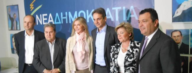 Ανανέωση ζήτησε από το Βόλο ο Κυριάκος Μητσοτάκης