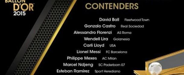 Οι υποψήφιοι για το καλύτερo γκολ (video)