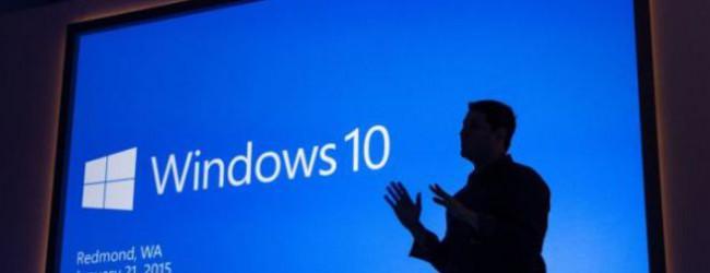 Αναβαθμίστηκε για πρώτη φορά το λειτουργικό των Windows 10