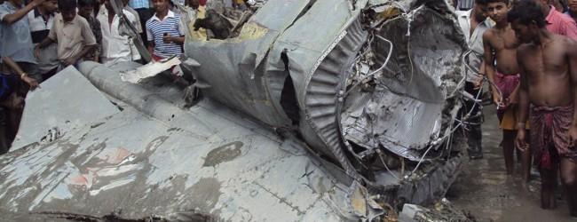 Συντριβή αεροσκάφους στην Ινδία – Δέκα νεκροί