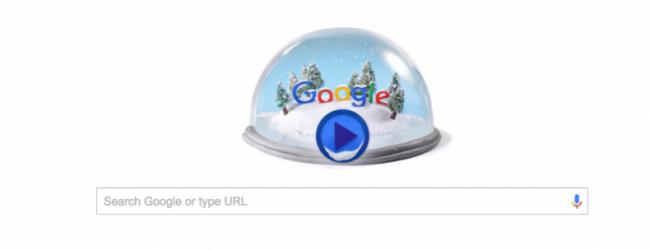 Αφιερωμένο στο χειμερινό ηλιοστάσιο το doodle της Google