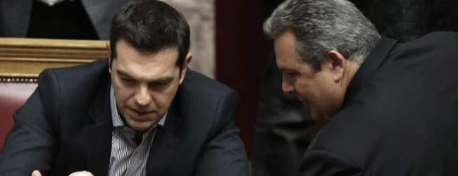 Σύννεφα στις σχέσεις ΣΥΡΙΖΑ-ΑΝΕΛ προκαλεί το σύμφωνο συμβίωσης