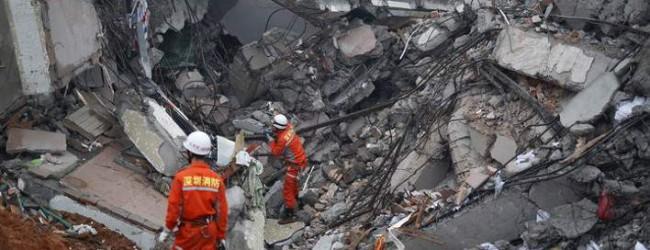 27 άνθρωποι αγνοούνται και 900 στους δρόμους από κατάρρευση κτιρίων στην Κίνα