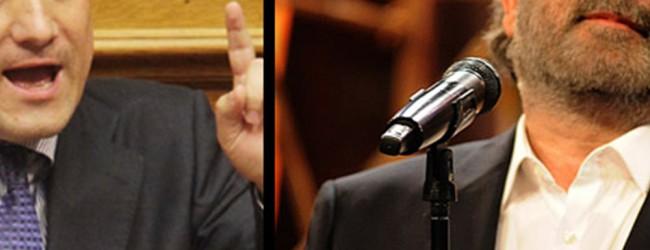 Ενταση στο «Αλ Τσαντίρι» με Άδωνι και Λαζόπουλο