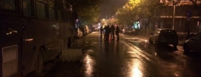 Θεσσαλονίκη: Κουκουλοφόροι πέταξαν μολότοφ στο Tουρκικό προξενείο