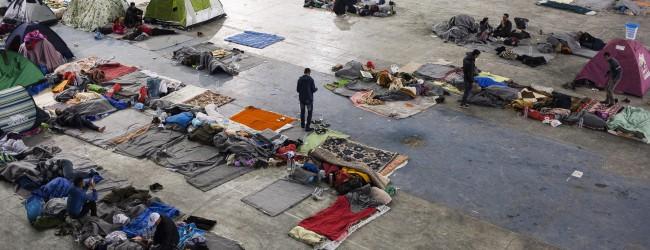 Συγκλονιστικές φωτογραφίες από τον καταυλισμό μεταναστών του Τάε Κβο Ντο