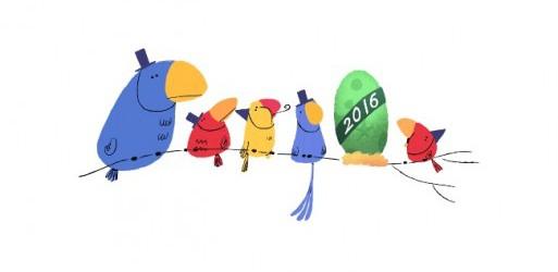 Παραμονή Πρωτοχρονιάς: Το εορταστικό doodle της Google!