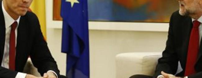 Οι Ισπανοί σοσιαλιστές λένε «όχι» στη συνεργασία με τον Ραχόι