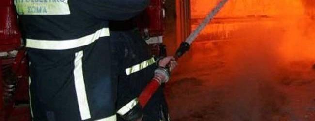 Φωτιά σε μονοκατοικία στη Ν. Ιωνία, με ελαφρά εγκαύματα ο ιδιοκτήτης