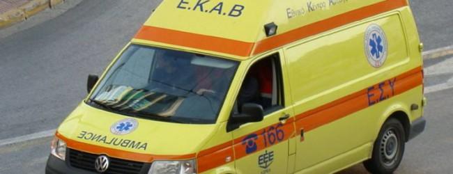 Σοβαρός τραυματισμός 25χρονης σε τροχαίο στην Πολυμέρη