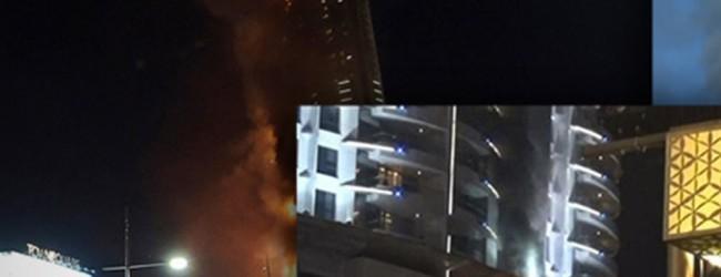 Από μια κουρτίνα ξέσπασε η κόλαση φωτιάς στο Ντουμπάι;