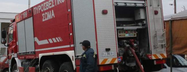 Ηλικιωμένος έχασε τη ζωή του σε πυρκαγιά στα Τρίκαλα