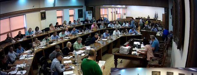 Ζωντανά η συνεδρίαση του Δημοτικού Συμβουλίου Βόλου