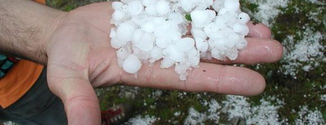 Καρδίτσα:  Μεγάλες ζημιές από χαλάζι και βροχές