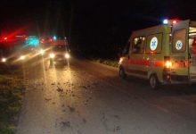 Τροχαίο με δύο τραυματίες στο Μουζάκι