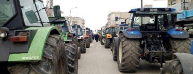 Αγροτικό συλλαλητήριο στα Φάρσαλα