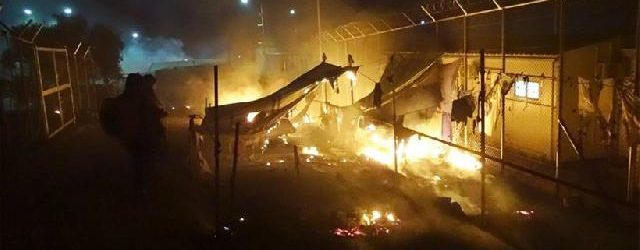 Τραγωδία στη Μόρια: Γιαγιά και εγγονάκι σκοτώθηκαν από έκρηξη στο hot spot