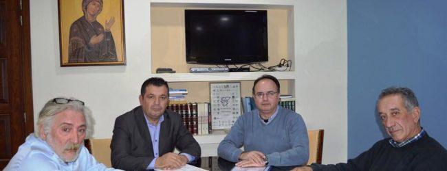 Συνάντηση της διοίκησης του Επιμελητηρίου με τον Βουλευτή Χρ. Μπουκώρο