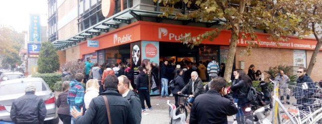 Πανικός για την Black Friday σε όλη την Ελλάδα -Ατέλειωτες ουρές στα καταστήματα και στο Βόλο