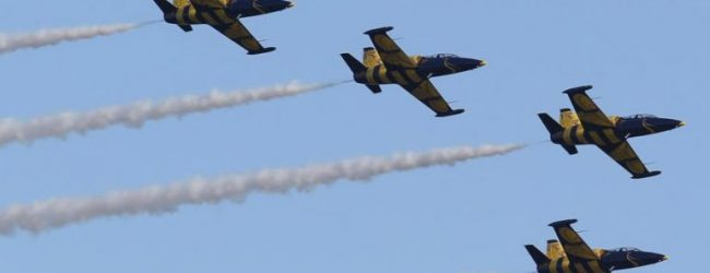 Μάγεψαν τους Βολιώτες οι αεροπορικές επιδείξεις (video)