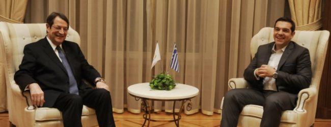 Tσίπρας για Κυπριακό: Λύση χωρίς κατοχικά στρατεύματα και εγγυήσεις