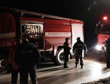 Λαχτάρησαν κάτοικοι πολυκατοικίας στη Λάρισα – Πήρε φωτιά διαμέρισμα