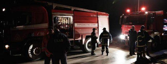 Φωτιά και σε κέντρο φιλοξενίας στο Κιλκίς -Κάηκαν σκηνές