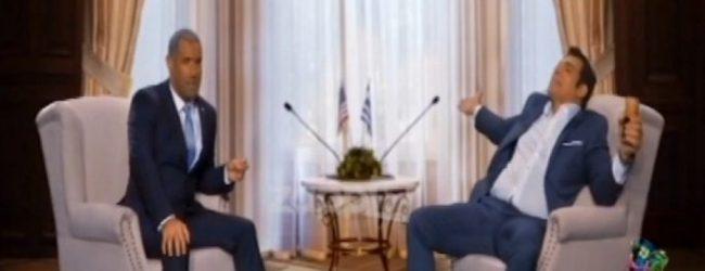 Ξεκαρδιστικό βίντεο! Κανάκης – Σερβετάς σε ρόλο Ομπάμα – Τσίπρα! (vid)