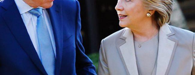 Ο Μπιλ Κλίντον πέταξε το τηλέφωνο σε άγριο καυγά με τη Χίλαρι