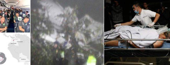 Συντριβή αεροπλάνου στην Κολομβία: Τουλάχιστον 75 νεκροί – Υπάρχουν επιζώντες