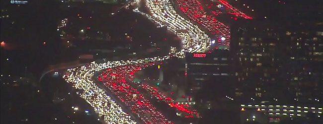 Απίστευτο video: Νυχτερινό μποτιλιάρισμα 16 χλμ. στο Λος Αντζελες