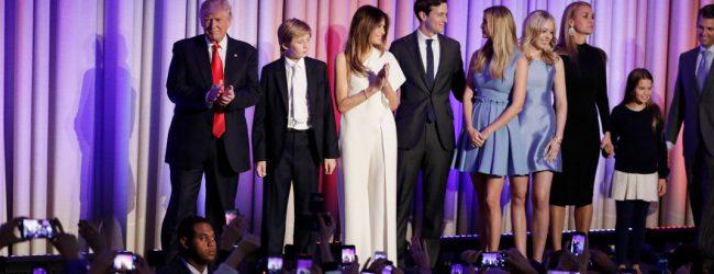Οι γυναίκες του Τραμπ -Οι δύο πρώην σύζυγοι, η νυν και οι δύο κόρες