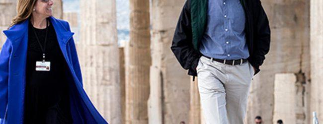 Στον Ιερό Βράχο της Ακρόπολης ο Ομπάμα