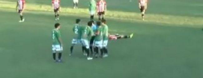Σοκ! Ποδοσφαιριστής σκότωσε διαιτητή λόγω κόκκινης!
