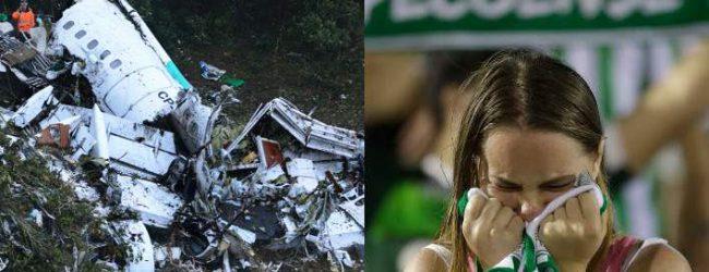 71 νεκροί, 6 διασωθέντες από τα συντρίμμια -Η αεροπορική τραγωδία της βραζιλιάνικης ομάδας που συγκλόνισε τον κόσμο (photos)
