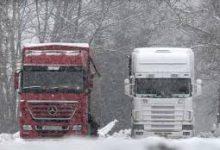 Απαγόρευση κυκλοφορίας φορτηγών σε οδικά τμήματα των Τρικάλων