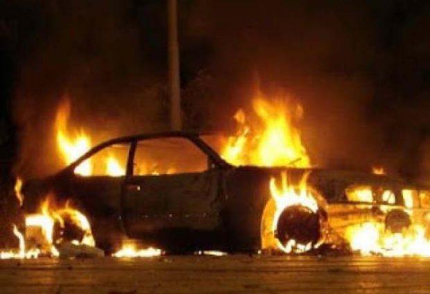 Βόλος: Αυτοκίνητο πήρε φωτιά μετά από ατύχημα στα Καλά Νερά – «Άγιο» είχε ο οδηγός του