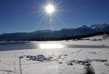 Η λίμνη Πλαστήρα στα λευκά -«Μαγικό» τοπίο (photos)