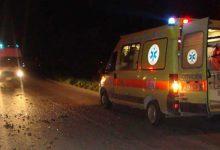 Λάρισα: Αυτοκίνητο παρέσυρε και σκότωσε 50χρονο πεζό