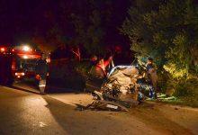 Τραυματίας σε τροχαίο έξω από την Λάρισα- Επιχείρηση για τον απεγκλωβισμό του