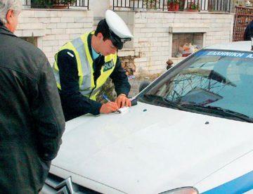Πέντε συλλήψεις για οδήγηση χωρίς δίπλωμα στο Βόλο
