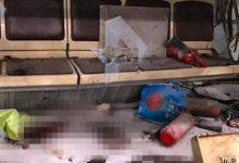 Φωτογραφίες- σοκ από το βαγόνι μετά την έκρηξη στην Αγία Πετρόπουλη