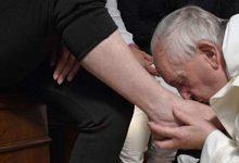 Ιταλία: Ο Πάπας έπλυνε τα πόδια μετανοημένων φυλακισμένων μαφιόζων (vid)