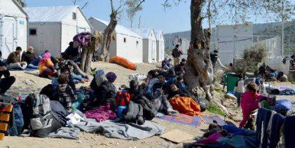 Λέσβος: Συνεχίζουν την απεργία πείνας οι πρόσφυγες στη Μόρια -Για τρίτη ημέρα